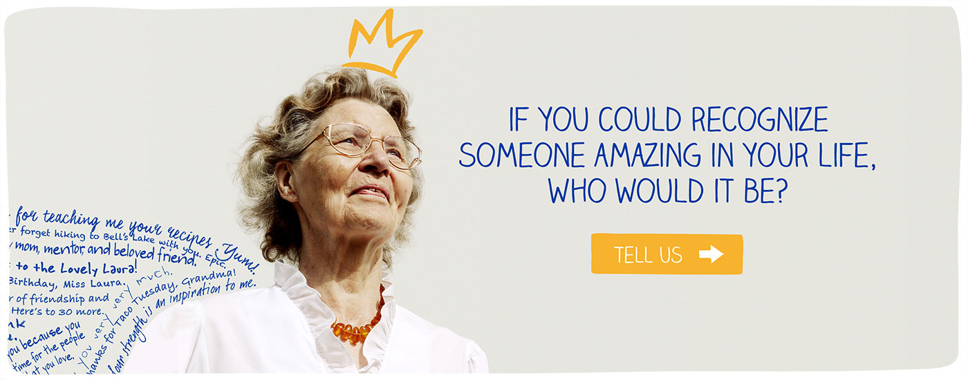 If You Could Recognize Someone Amazing In Your Life, Who Would It Be? | OGO (O Great One!)