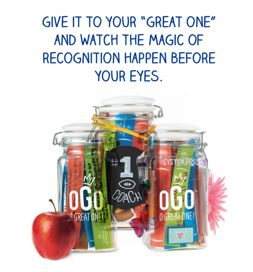 "Give it to your ""great one"" and watch the magic of recognition happen before your eyes."